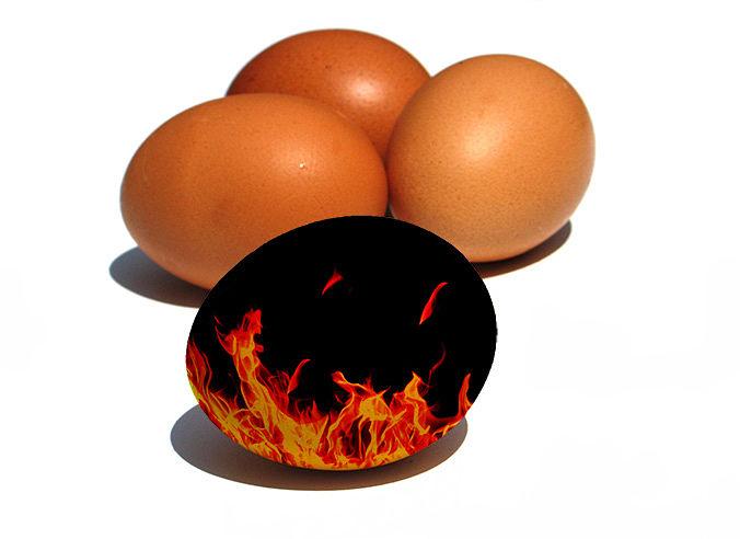 Huevo fuego - Natalia Ortiz