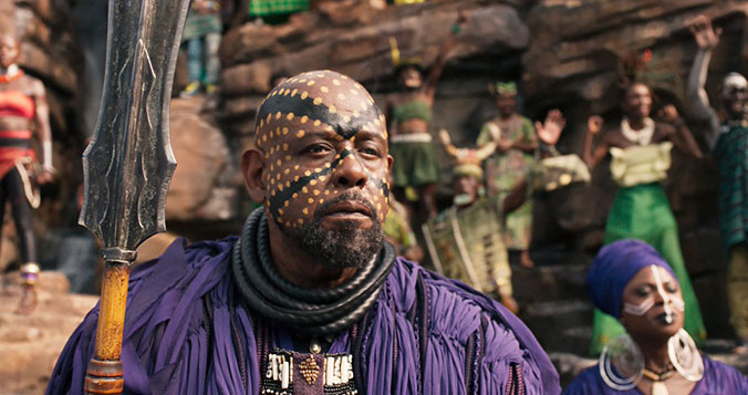 Black Panther - Forest Whitaker