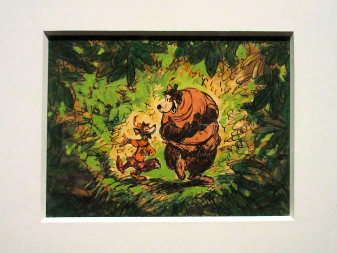 Ilustración Pequeño John y Robin Hood