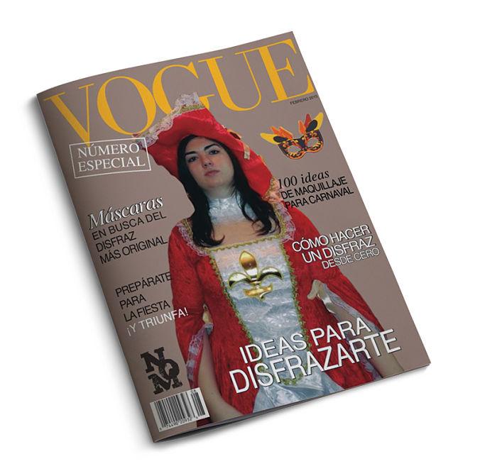 Portada revista para carnaval - Natalia Ortiz