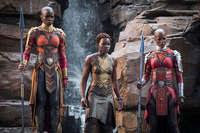 Cascada Wakanda - Black Panther