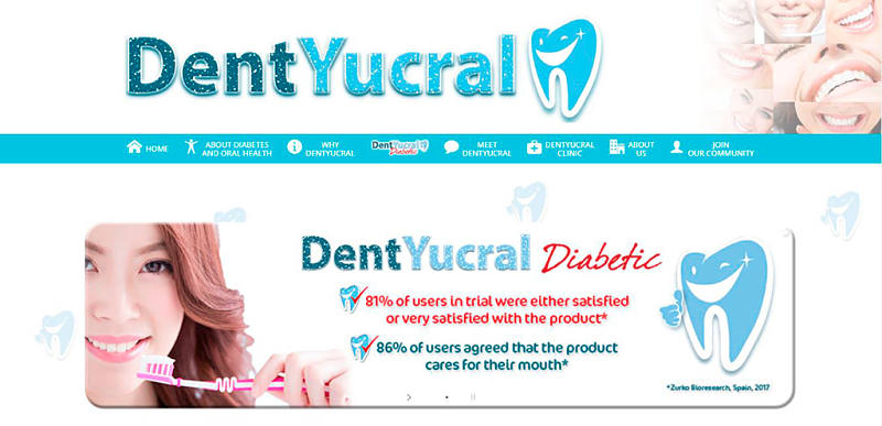 Web DentYucral Singapore