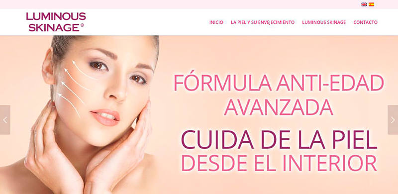 Web Luminous Skinage
