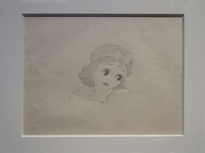 Blancanieves parecida a Betty Boop
