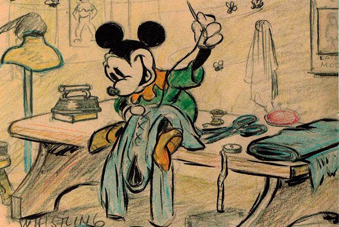 Mickey Mouse - Sastrecillo Valiente