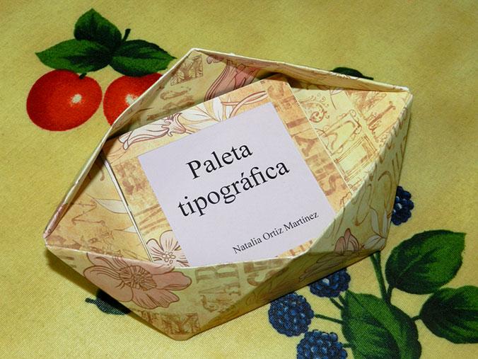 Paleta tipográfica - Natalia Ortiz MP