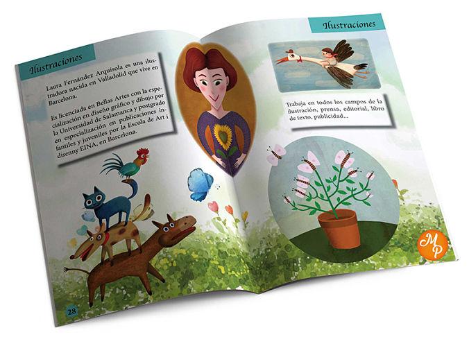 Revista infantil ilustraciones - Natalia Ortiz y Sara Saad