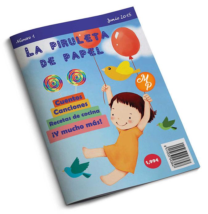 Portada Revista infantil - Natalia Ortiz y Sara Saad