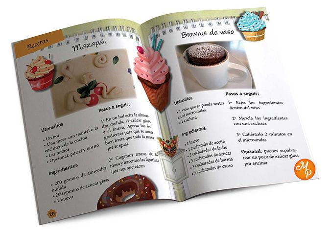 Revista infantil recetas - Natalia Ortiz y Sara Saad