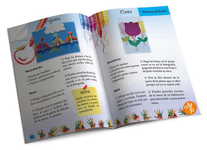 Revista infantil manualidades - Natalia Ortiz y Sara Saad