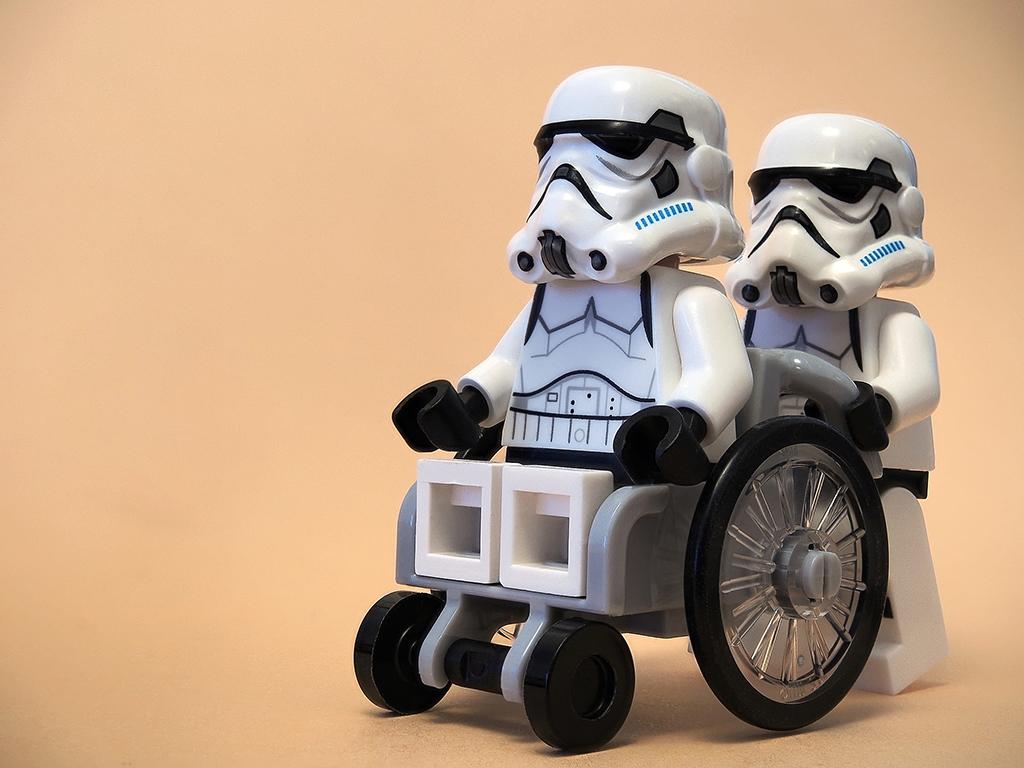 Silla de ruedas Star Wars