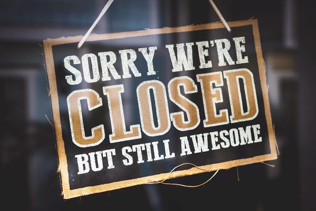 Diario de confinamiento - Sorry we're closed